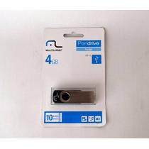 20 Pen Drives Multilaser 4gb Original