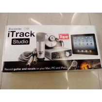Focusrite Itrack Studio Kit Gravação: Placa, Microfone, Fone