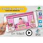Video Convite  Digital Virtual Animado Casa Das Bonecas