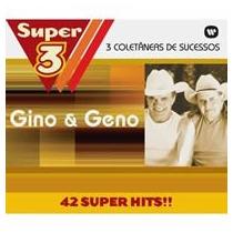 Box Cd Gino E Geno Super 3 (3 Cds 42- Super Hits)
