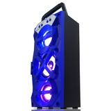 Caixa Som Amplificada Torre Bluetooth Portátil Mp3 Fm Sd Usb