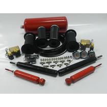 Kit Suspensão A Ar 04 Válvulas + Controle