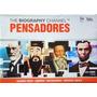 Dvd's Pensadores: Freud, Confúcio, Nostradamus E Lincoln