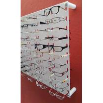 Painel Expositor Oculos Acrílico Branco Ou Transparente 500x