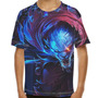 Camiseta League Of Legends Rengar Caçador Noturno Infantil