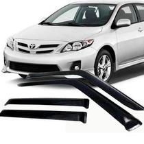 Calha Defletor Chuva Tgpoli Toyota Corolla Sedan 2013