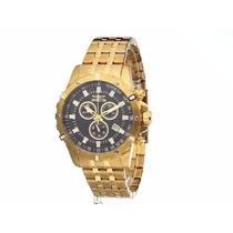 Relógio Invicta 18k Gold Masculino Importado (original)