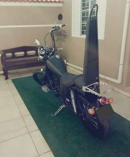 CHOPPER HONDA XLX 350CC - THE BLACK.