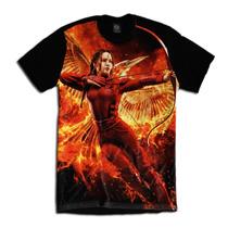 Camiseta Personalizada Filme Jogos Vorazes Katniss