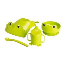 Ikea Mata 4 - Parte Verde Do Bebê Dinnerware Set