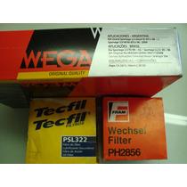 Filtro Ar + Lubrificantes + Comb Kia Sportage 2.0 Turbo Dies