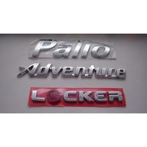 Kit Emblemas Palio + Adventure + Locker - Bre
