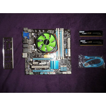 Kit Upgrade I5 2500 3.7ghz 6mb + Q77m + 8gb Kingston Hyperx