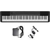 Piano Digital Casio Cdp135bk Pedal+fonte+nf-e Cdp 135bk