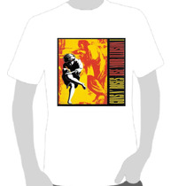 Camisetas Camisas - Rock - Guns And Roses- Use Your Illusion