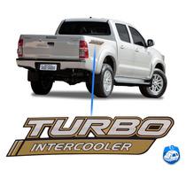 Logo Adesivo Para Toyota Hilux 4x4 Turbo Intercooler 2014/15