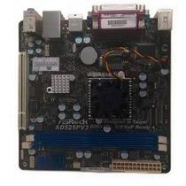 Placa Mãe Asrock Ad2525pv3 Processador Atom 1.8ghz