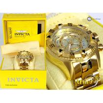 Invicta Original Excursion Reserve 6471 - Banhado Ouro 18k