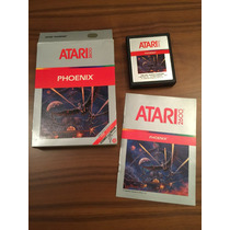 Cartucho Phoenix Na Caixa Atari 2600