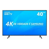 Smarttv 40 4k Samsung 40nu7100 Hdr Quad-core Espelhamentoafo