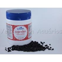 Carvão Ativado Litwin Granulado Para Aquário Pote 500gr