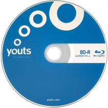 10 Peças De: Mídia Virgem Blu-ray Bd-r Disc 4x 25gb - Retire