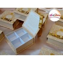 Caixa Convite Box Com Foto - Padrinhos De Casamento, 15 Anos