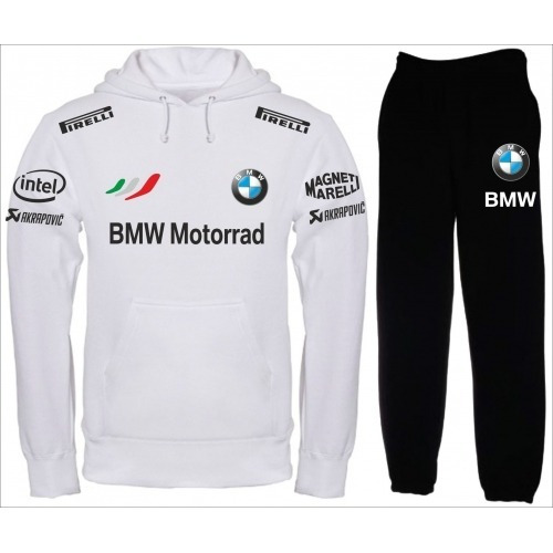 Conjunto Moletom Bmw Motors + Calça Dunlop Magneti Marelli 810ef4dfd32ef