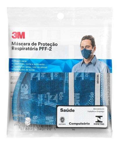 Máscara N95 Respirador Pff2s 9820 3m Proteção Pronta Entrega