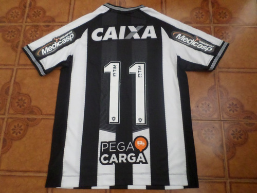 Camisa Botafogo Usada Jogo 11 Tamanho G . 7da6856f2b8b3