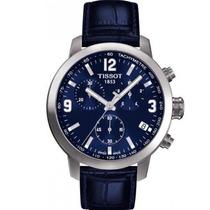 Relógio Tissot Prc 200 T055.417.11.047.00 Azul Novo Modelo
