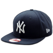 Boné Snapback New York Yankees Of Azul Marinho Aba Reta