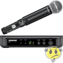 Microfone Shure Sem Fio Blx24br / Sm58 - Loja Kadu Som