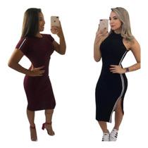 99ef93225 Busca vestido curto canelado com os melhores preços do Brasil ...