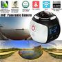 Câmera Prova D'agua Panoramica 360 Grau 4k Ultra Hd 3d Wifi