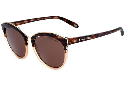 Tiffany   Co. Tf 4146 - Óculos De Sol 8247 73 Marrom Mesclad 629fc24b94