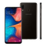 Celular Samsung Galaxy A20 Dual 32gb 3gb Ram A205 Preto
