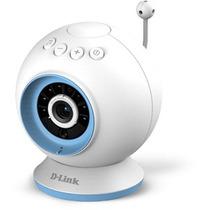 Câmera Babá Eletrônica Babycam Wifi D-link Dcs-825l