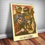 Placa Decorativa Gorillaz 6