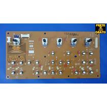 Placa Painel Esquerdo Completa Do Teclado Yamaha Mm6 Nova