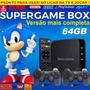 Super Game Box   Video Game Retro Multijogos Clássicos 64gb