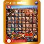 Dlc Com 12 Personagens Street Fighter Vs Tekken (código Ps3)