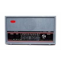 Radio Vintage Madeira Companheiro 9 Faixas Produto Novo Nfe