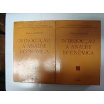 Livros - Introdução À Análise Econômica - Agir - 1966 - 2v.