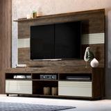 Rack Com Painel Para Tv Até 60 Polegadas Samba Siena Ic