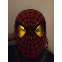 Mascara Do Homem Aranha Com Luzes E Sons Hasbro - Americano
