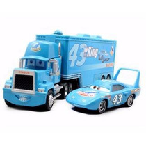 Disney Carros Kit Caminhão Mack & Carro The King Rei Mcqueen