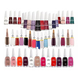 Kit 30 Esmaltes, 10 Colorama, 10 Impala, 10 Risque Atacado