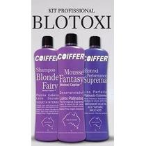 Kit Profissional Blotoxi 100%original Liso Perfeito