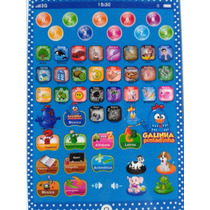 Mini Tablet Infantil Galinha Pintadinha Interativo Educativo